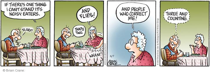 Comic Strip Brian Crane  Pickles 2013-06-07 etiquette