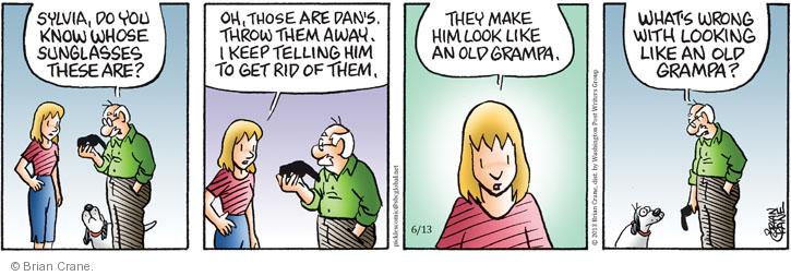 Comic Strip Brian Crane  Pickles 2013-06-13 get old