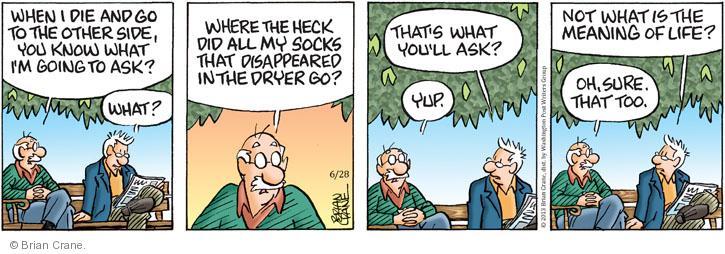 Comic Strip Brian Crane  Pickles 2013-06-28 too