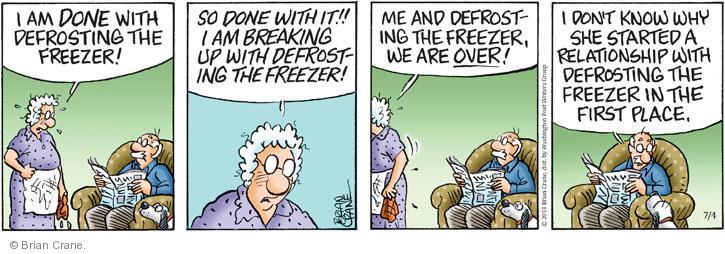 Comic Strip Brian Crane  Pickles 2013-07-04 relationship