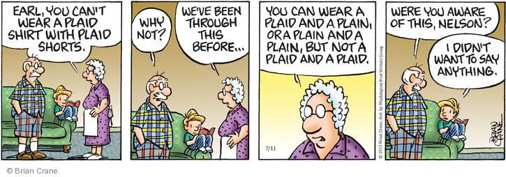 Comic Strip Brian Crane  Pickles 2013-07-11 fashion