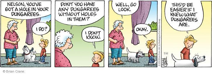 Comic Strip Brian Crane  Pickles 2013-07-12 easier