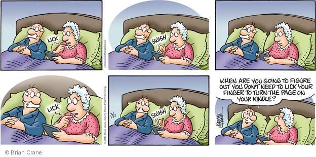 Comic Strip Brian Crane  Pickles 2013-07-21 habit