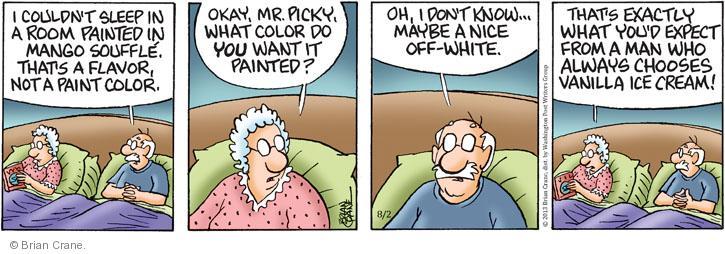 Comic Strip Brian Crane  Pickles 2013-07-02 title