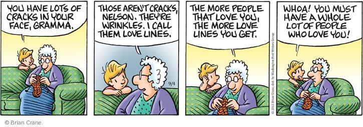Comic Strip Brian Crane  Pickles 2013-09-04 line