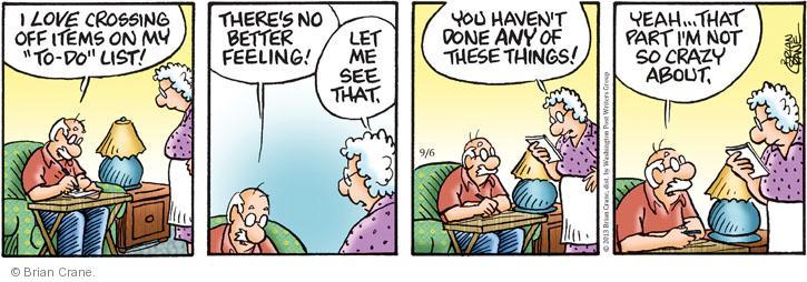 Comic Strip Brian Crane  Pickles 2013-09-06 laziness