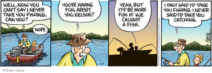 Comic Strip Brian Crane  Pickles 2013-09-09 have fun