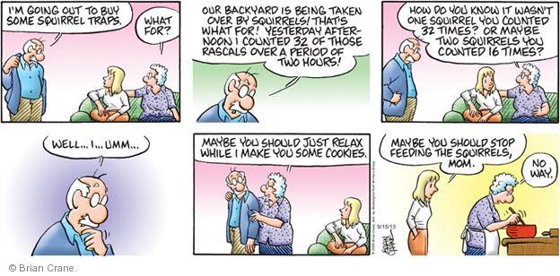 Comic Strip Brian Crane  Pickles 2013-09-15 hour