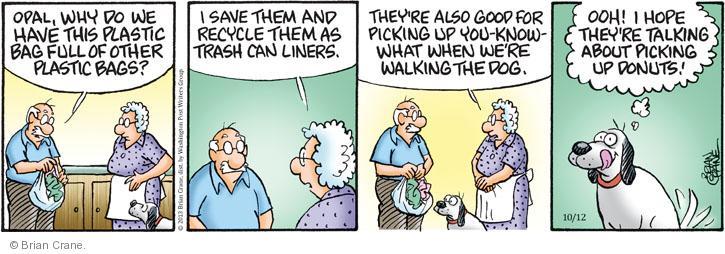Comic Strip Brian Crane  Pickles 2013-10-12 dog food