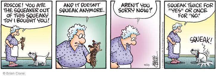 Comic Strip Brian Crane  Pickles 2013-10-23 communicate
