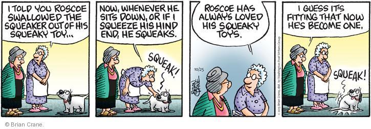 Comic Strip Brian Crane  Pickles 2013-10-25 one