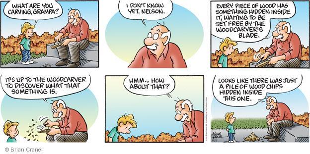 Comic Strip Brian Crane  Pickles 2013-11-03 pile