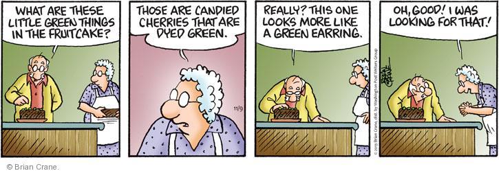 Comic Strip Brian Crane  Pickles 2013-11-09 lose