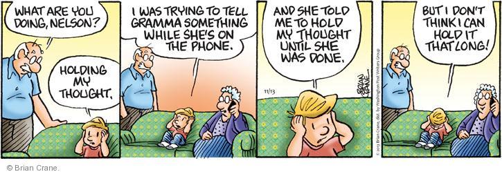 Cartoonist Brian Crane  Pickles 2013-11-13 long