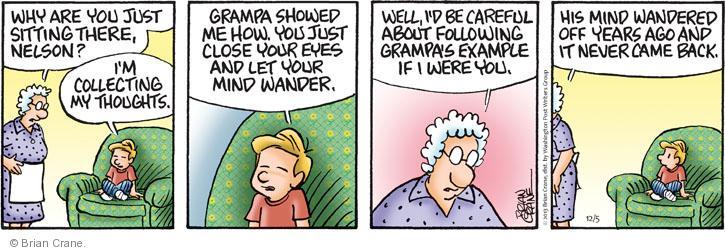 Comic Strip Brian Crane  Pickles 2013-12-05 careful