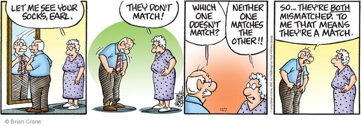 Comic Strip Brian Crane  Pickles 2013-12-07 one