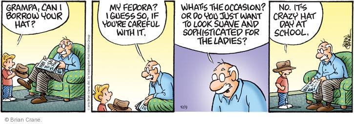 Comic Strip Brian Crane  Pickles 2013-12-09 careful