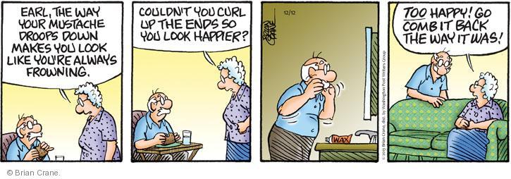 Comic Strip Brian Crane  Pickles 2013-12-12 too