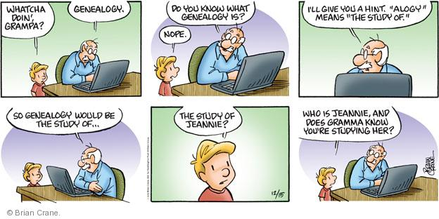 Comic Strip Brian Crane  Pickles 2013-12-15 root