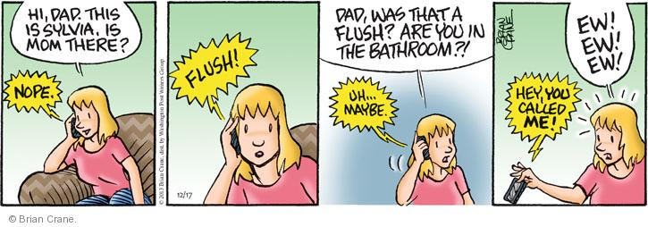 Comic Strip Brian Crane  Pickles 2013-12-17 etiquette