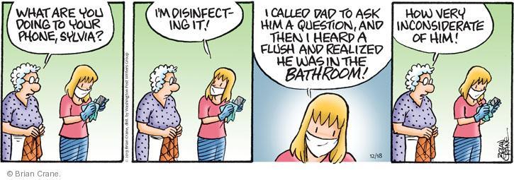 Comic Strip Brian Crane  Pickles 2013-12-18 germ