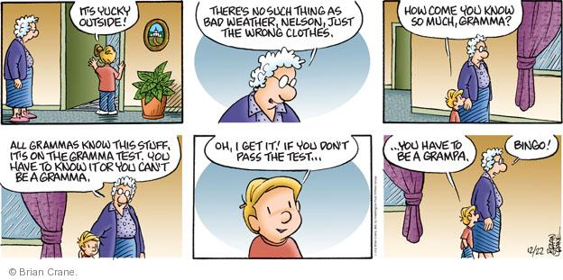 Comic Strip Brian Crane  Pickles 2013-12-22 yuck