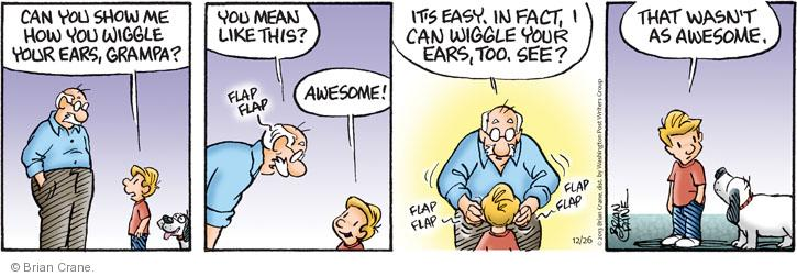 Comic Strip Brian Crane  Pickles 2013-12-26 too