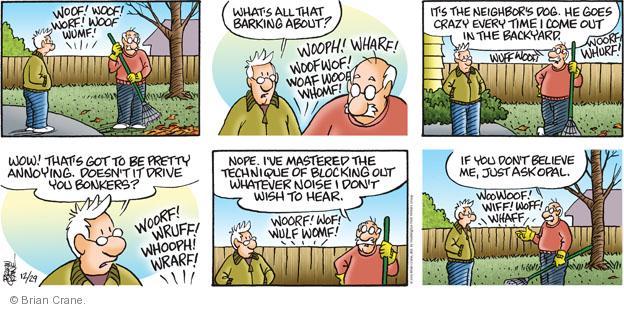 Comic Strip Brian Crane  Pickles 2013-12-29 driving crazy