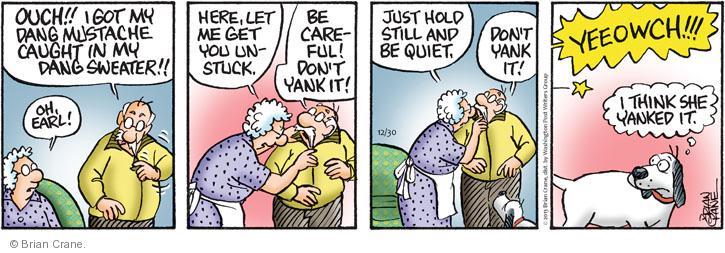 Comic Strip Brian Crane  Pickles 2013-12-30 careful
