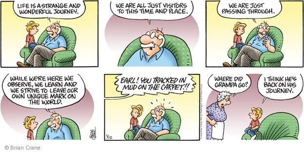 Comic Strip Brian Crane  Pickles 2014-01-12 wonderful