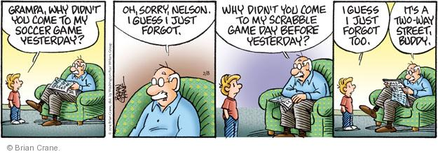 Comic Strip Brian Crane  Pickles 2014-02-08 support
