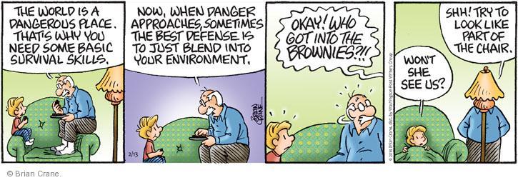 Comic Strip Brian Crane  Pickles 2014-02-13 part