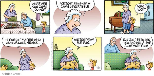 Comic Strip Brian Crane  Pickles 2014-02-16 lose