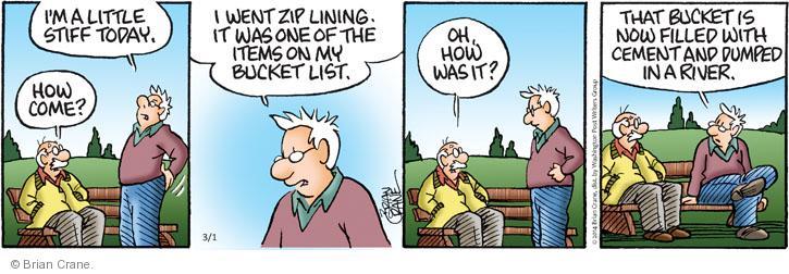 Comic Strip Brian Crane  Pickles 2014-03-01 sport