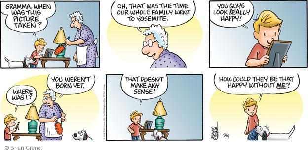 Comic Strip Brian Crane  Pickles 2014-03-09 photo