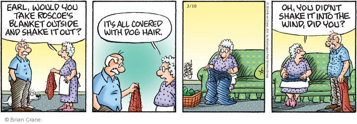 Comic Strip Brian Crane  Pickles 2014-03-10 shake