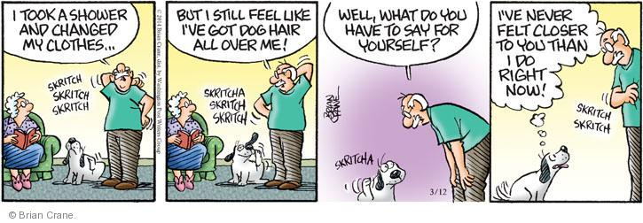 Comic Strip Brian Crane  Pickles 2014-03-12 friendship