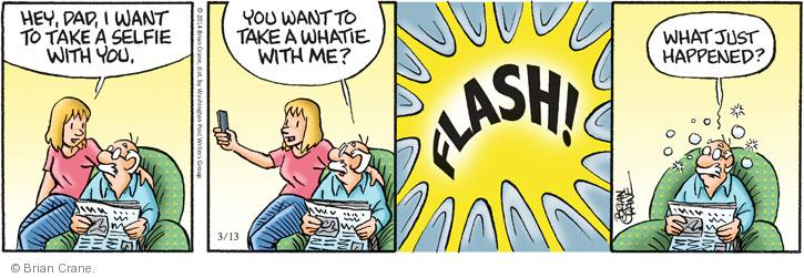 Comic Strip Brian Crane  Pickles 2014-03-13 daughter