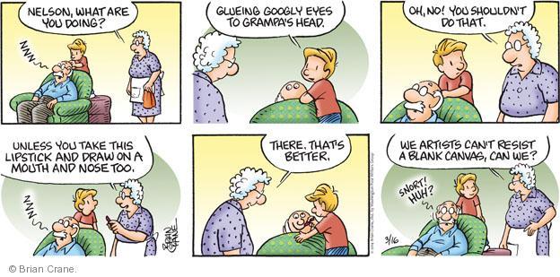 Comic Strip Brian Crane  Pickles 2014-03-16 blank