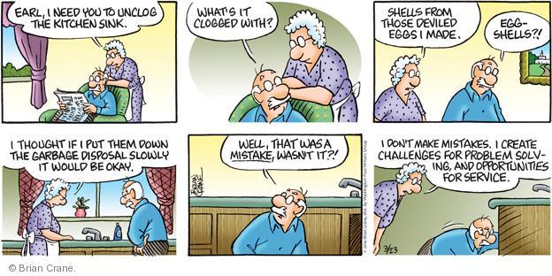 Comic Strip Brian Crane  Pickles 2014-03-23 repair