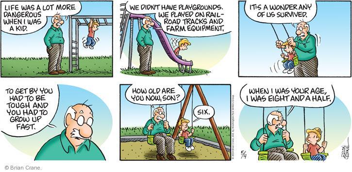 Comic Strip Brian Crane  Pickles 2014-05-04 farm