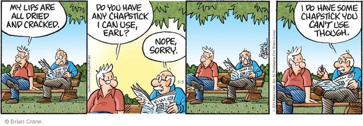 Comic Strip Brian Crane  Pickles 2014-05-05 crack