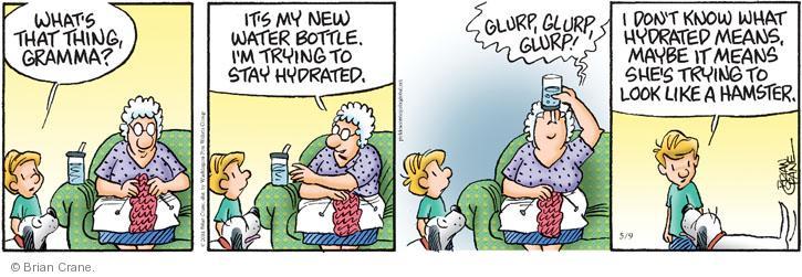 Cartoonist Brian Crane  Pickles 2014-05-09 beverage