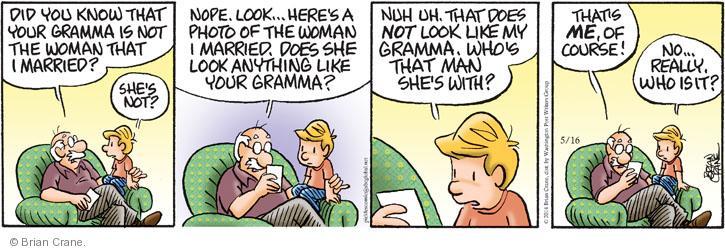 Comic Strip Brian Crane  Pickles 2014-05-16 older