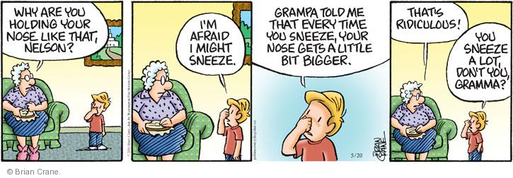 Comic Strip Brian Crane  Pickles 2014-05-20 tease