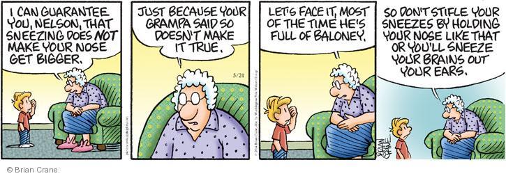 Comic Strip Brian Crane  Pickles 2014-05-21 tease