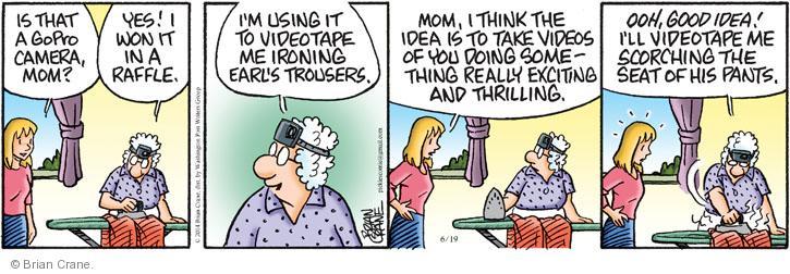 Comic Strip Brian Crane  Pickles 2014-06-19 take