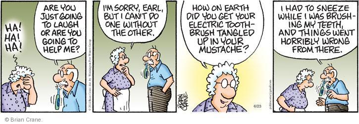 Comic Strip Brian Crane  Pickles 2014-06-23 one