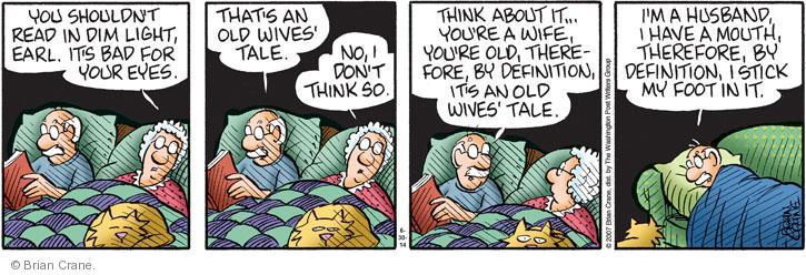 Comic Strip Brian Crane  Pickles 2014-06-30 argument