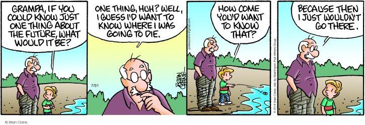 Comic Strip Brian Crane  Pickles 2014-07-31 one